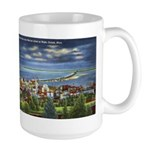 1941 View of Duluth from Skyline Drive Large Mug