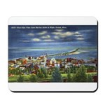 1941 View of Duluth from Skyline Drive Mousepad