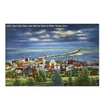 1941 View of Duluth from Skyline Drive Postcards (