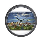 1941 View of Duluth from Skyline Drive Wall Clock