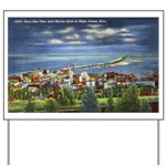 1941 View of Duluth from Skyline Drive Yard Sign