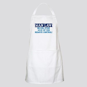 NEVER GIVE UP THE REMOTE CONT Apron
