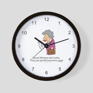 SW Don't Retire Wall Clock