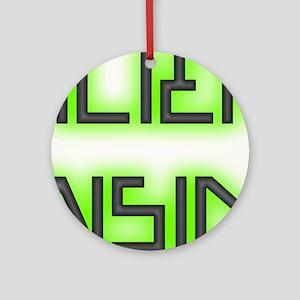 Alien Inside Ornament (Round)