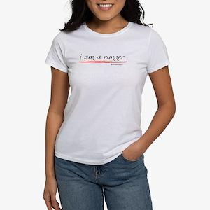 I Am A Runner Slogan #6 Women's T-Shirt