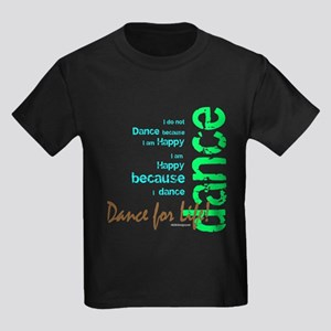Dance for Life 1 Kids Dark T-Shirt
