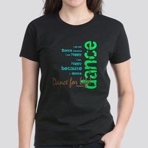 Dance for Life 1 Women's Dark T-Shirt