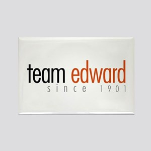 Team Edward: Since 1901 Rectangle Magnet