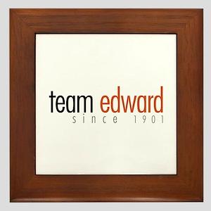 Team Edward: Since 1901 Framed Tile