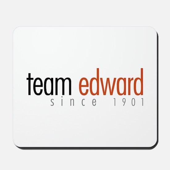 Team Edward: Since 1901 Mousepad
