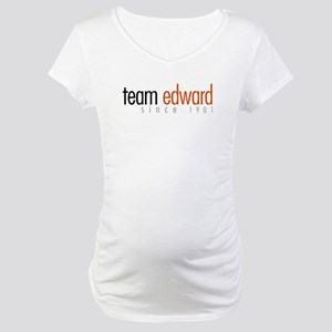 Team Edward: Since 1901 Maternity T-Shirt