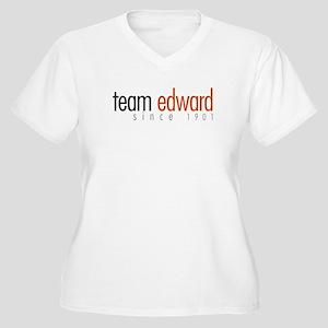 Team Edward: Since 1901 Women's Plus Size V-Neck T