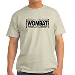 Wombat Words Light T-Shirt