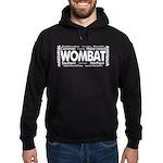 Wombat Words Hoodie (dark)