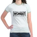 Wombat Words Jr. Ringer T-Shirt