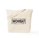 Wombat Words Tote Bag