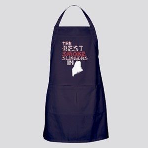 The Best Smoke Slingers In Maine Barb Apron (dark)