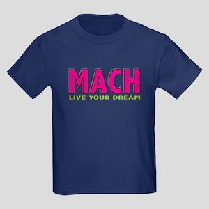 MACH live your dream Kids Dark T-Shirt