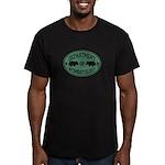 Department of Wombatology Men's Fitted T-Shirt (da
