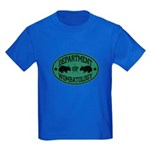 Department of Wombatology Kids Dark T-Shirt