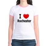 I Love Rochester Jr. Ringer T-Shirt