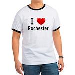 I Love Rochester Ringer T