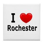 I Love Rochester Tile Coaster