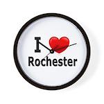 I Love Rochester Wall Clock