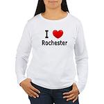 I Love Rochester Women's Long Sleeve T-Shirt