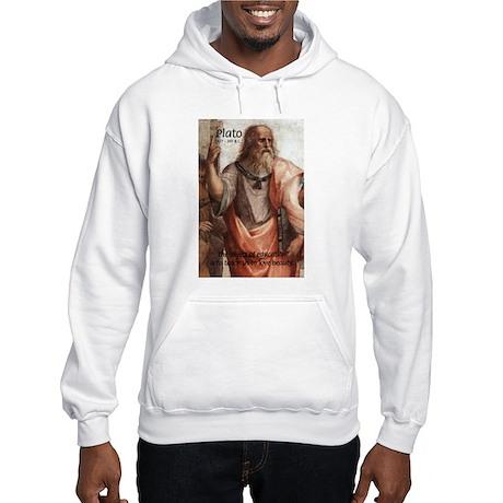 Plato Education Love Beauty Hooded Sweatshirt