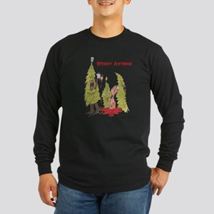 Merry Axemas Long Sleeve Dark T-Shirt
