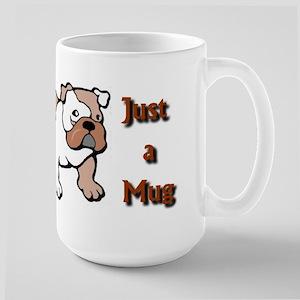Bulldog coffee mugs and stein Large Mug