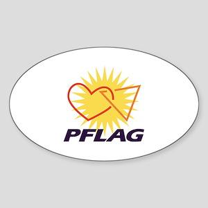 PFLAG of Winston-Salem Oval Sticker