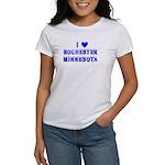 I Love Rochester Winter Women's T-Shirt