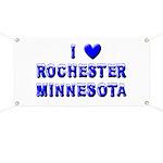 I Love Rochester Winter Banner