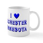 I Love Rochester Winter Mug