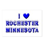 I Love Rochester Winter Postcards (Package of 8)
