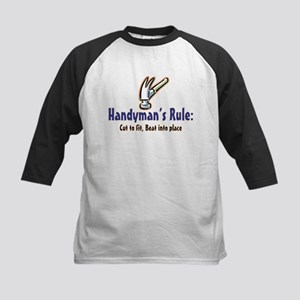 Handymans Rule Kids Baseball Jersey