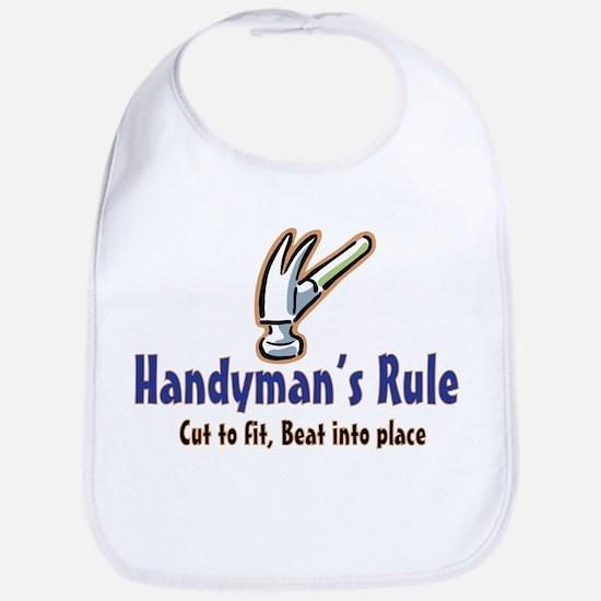 Handymans Rule Bib