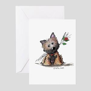 Cairn Garden Digger Greeting Cards (Pk of 10)