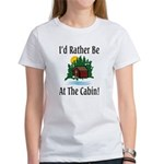 At The Cabin Women's T-Shirt