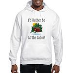 At The Cabin Hooded Sweatshirt