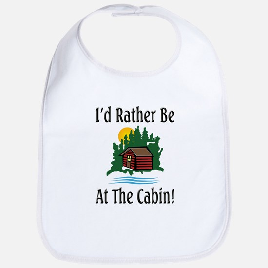 At The Cabin Bib