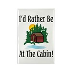 At The Cabin Rectangle Magnet (10 pack)