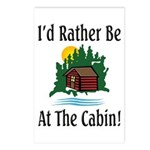 At The Cabin Postcards (Package of 8)