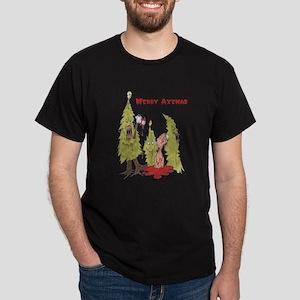 Merry Axemas Dark T-Shirt