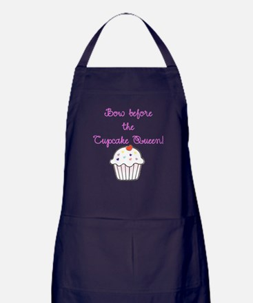 Cupcake Queen! Apron (dark)