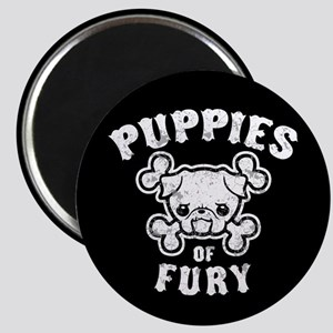 Puppies of Fury Magnet