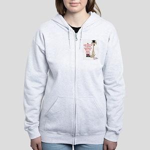 Greyhound Women's Zip Hoodie/Honor Student