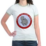 Hippo Talk To The Tail Jr. Ringer T-Shirt